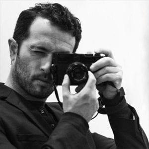 Foto von Ofir Barak, Besucher des Fotostudio Blendpunkt in Graz